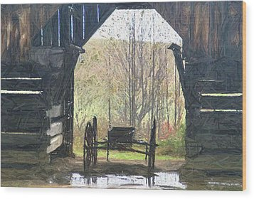 Buggy Wood Print