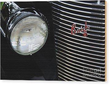 Buick 8 Wood Print by David Lawson