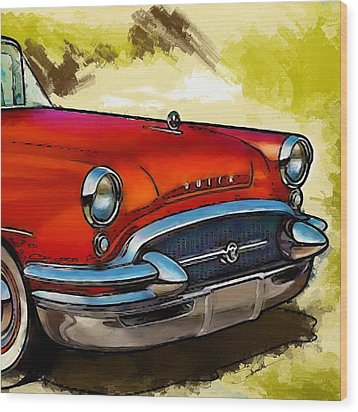 Buick Automobile Wood Print by Robert Smith