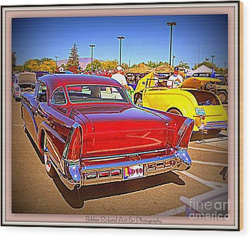 Buick Classic Wood Print by Bobbee Rickard