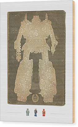 Built American Tough No.1 Wood Print by Jeff Steed