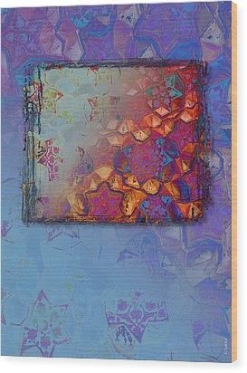 Bukhara Glow Wood Print