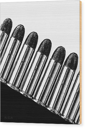Bullets Wood Print by Bob Orsillo