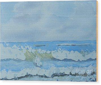 Bulli Beach Wood Print by Pamela  Meredith