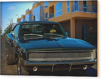 Bullit Replica Charger Wood Print by Tim McCullough