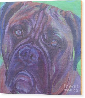 Bullmastiff Wood Print