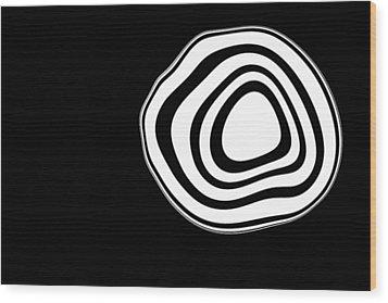 Bulls Eye  Wood Print by James Mancini Heath
