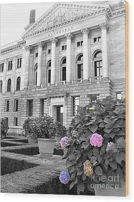 Bundesrat Germany Wood Print by Art Photography
