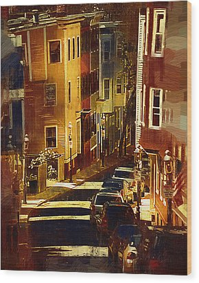 Bunker Hill Wood Print by Kirt Tisdale