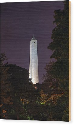 Bunker Hill Monument - Boston Wood Print by Joann Vitali