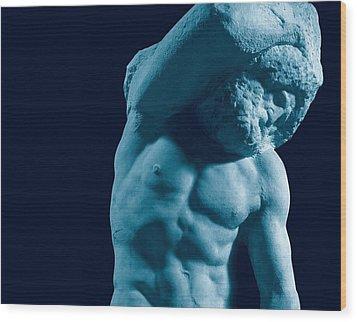 Buonarroti Michelangelo, Prisoner Wood Print by Everett