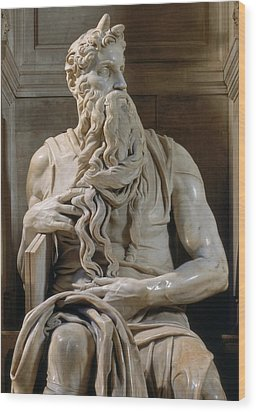 Buonarroti Michelangelo, Tomb Of Giulio Wood Print by Everett
