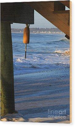 Buoy 1 Wood Print by Michael Mooney