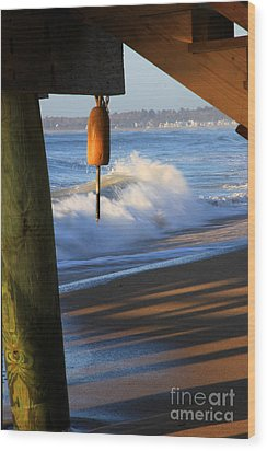 Buoy 2 Wood Print by Michael Mooney