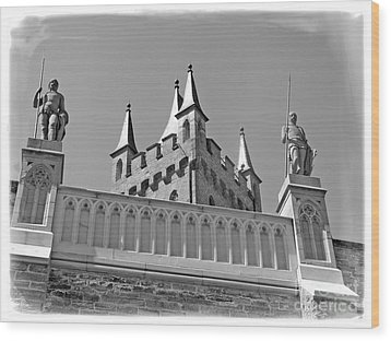 Wood Print featuring the photograph Burg Hohenzollern by Carsten Reisinger
