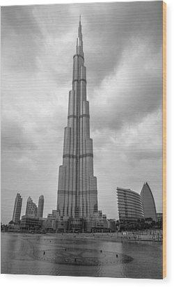 Wood Print featuring the photograph Burj Khalifa by Robert  Aycock