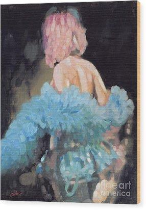 Burlesque I Wood Print by John Silver
