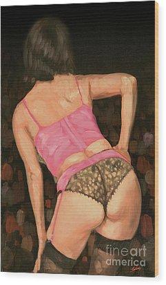 Burlesque IIi Wood Print by John Silver
