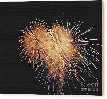 Wood Print featuring the photograph Bursting With Love by Eve Spring