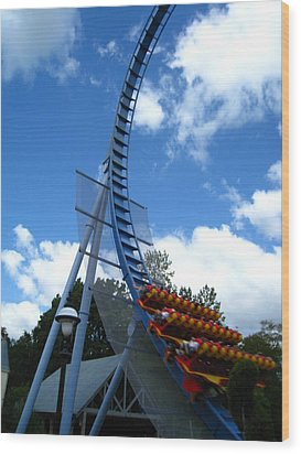 Busch Gardens - 121220 Wood Print by DC Photographer