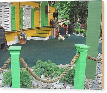 Busch Gardens - Animal Show - 121241 Wood Print by DC Photographer