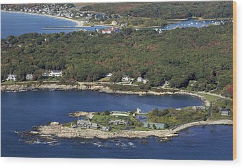 Bush Compound, Kennebunkport Wood Print by Dave Cleaveland