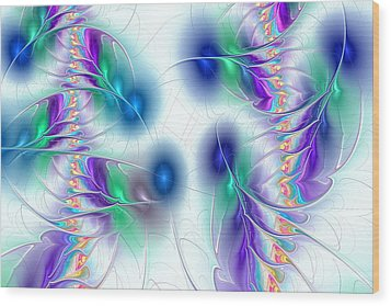 Butterflies Wood Print by Anastasiya Malakhova