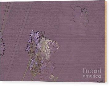Butterfly 1 Wood Print by Carol Lynch