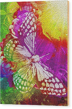 Butterfly World 2 Wood Print by Nico Bielow