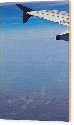 by Land Sea or Air Wood Print by Saurav Pandey