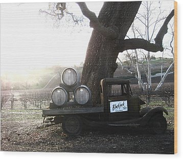 Wood Print featuring the photograph Bygone Era by Paul Foutz