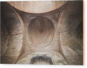 Byzantine Medieval Dome Ceiling Wood Print by Artur Bogacki