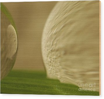 C Ribet Orbscape 0277 Wood Print by C Ribet