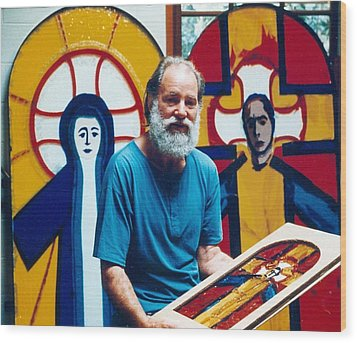 C02 The Completed Murals Wood Print