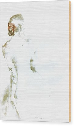 C11. Ballet Dancer Wood Print