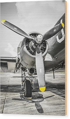 C47 Dakota Radial Wood Print