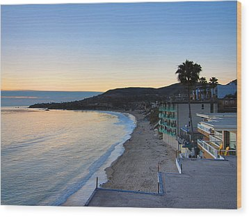 Ca Beach - 121229 Wood Print by DC Photographer