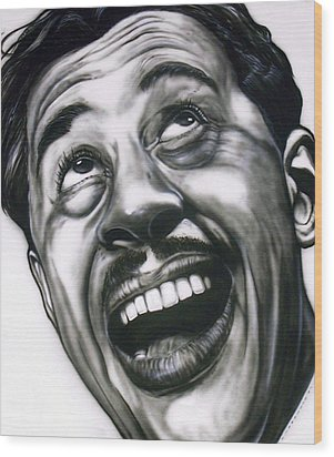 Cab Calloway Wood Print by Mike Underwood