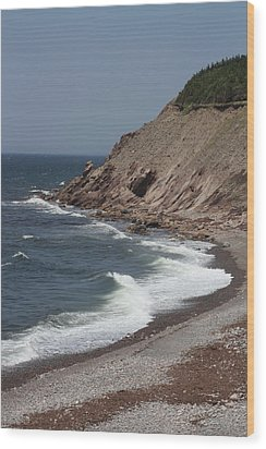 Cabot Trail Scenery Wood Print