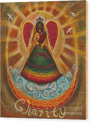 Cachita Madonna Wood Print