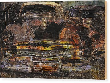Cadillac Wood Print by Jim Vance