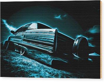 Cadillac Lowrider Wood Print by motography aka Phil Clark