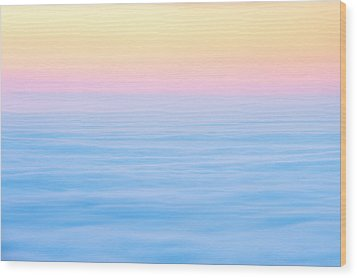 Wood Print featuring the photograph Cadillac Mountain In Pastels by Bernard Chen