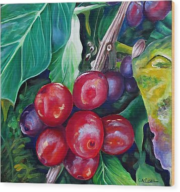Cafe Costa Rica Wood Print