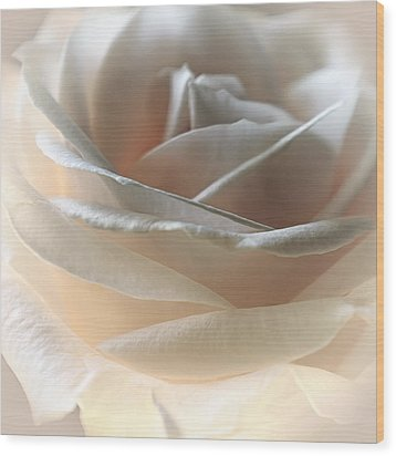 Cafe Latte Wood Print by Darlene Kwiatkowski