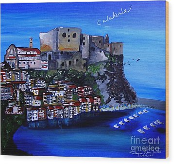 Calabria Italy Wood Print