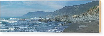 California Beaches 3 Wood Print