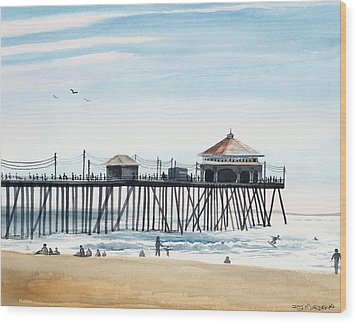 California Dreamin Wood Print