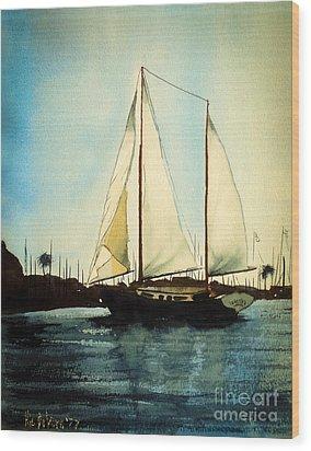 California Dreamin V Wood Print by Kip DeVore