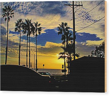 California Wood Print
